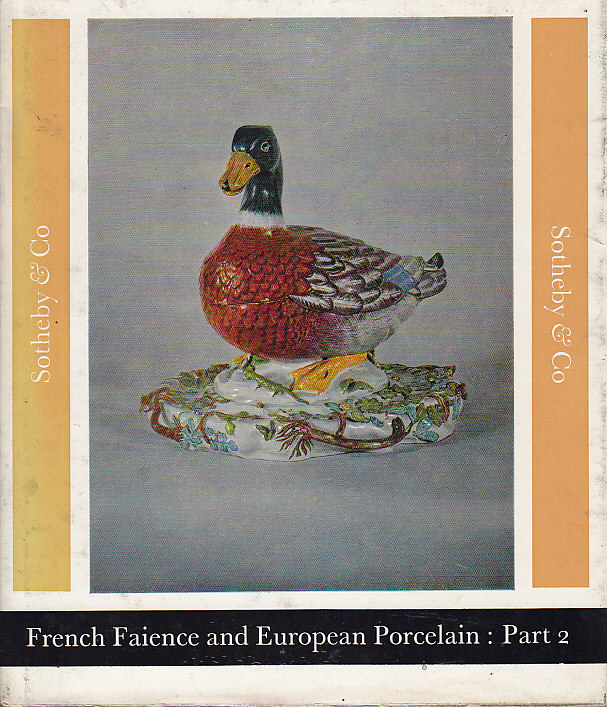 FRENCH FAIENCE AND EUROPEAN PORCELAIN