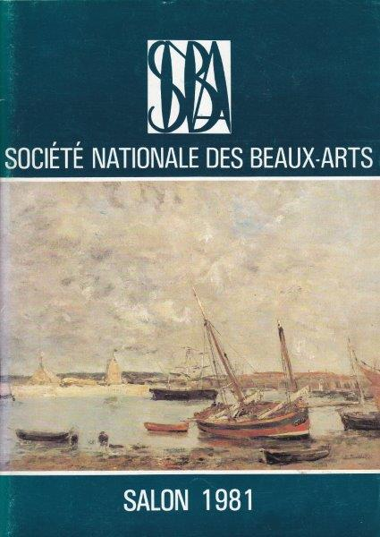 SALON 1981 , SOCIETE NATINALE DES BEAUX ARTS