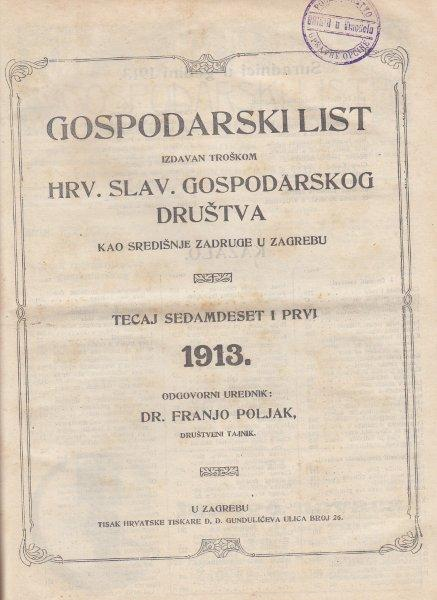 GOSPODARSKI LIST