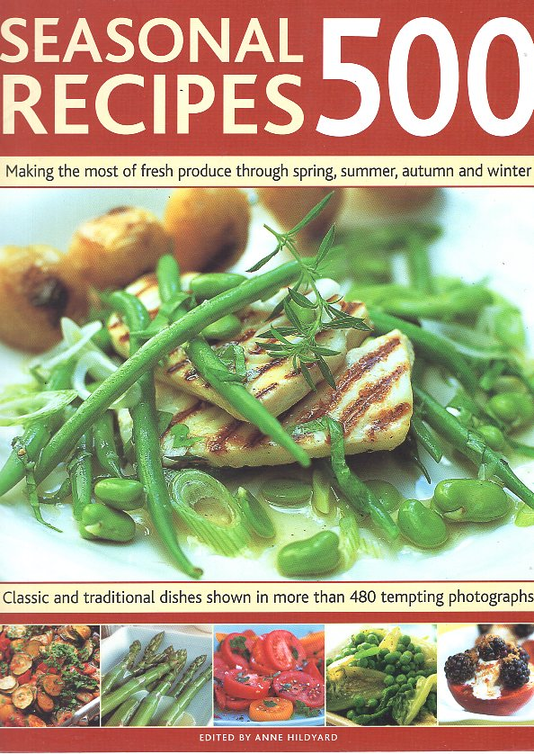 SEASONAL RECIPES 500