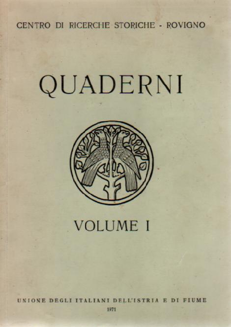 QUADERNI VOLUME 1
